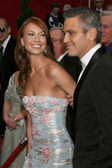 George Clooney & Sarah Larson — Stock Photo