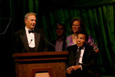 Kevin Costner, Muhammad Ali & Wife Yolanda — Stock Photo