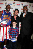Big Easy, Don DIamont & Son Luca, & Sweet Lou Dunbar — Stock Photo