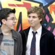 Christopher Mintz-Plasse, and Michael Cera - Stock Photo