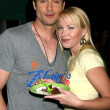 Daniel Goddard & Adrienne Frantz - Stock Photo