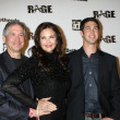 Lynda Carter, husband, son — Stock Photo