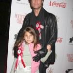 Sean Kanan with daughter — Stock Photo #13011494