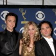 Jim Parsons, Kaley Cuoco,  Johnny Galecki — Stock Photo