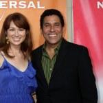 Ellie Kemper & Oscar Nunez — Stock Photo