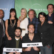 Stock Photo: Mark Christopher Lawrence, Sarah Lancaster, Yvonne Strahovski, Scott Krinsky, Adam Baldwin, JoshuGomez, Zachary Levi and Vik Sahay