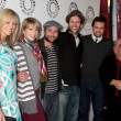 Charlie Day, Mary Elizabeth Ellis, Kaitlin Olson, Glenn Howerton, Rob McElhenney, Danny DeVito - Stock Photo