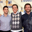 Justin Bartha, Ed Helms and Bradley Cooper - Stock Photo