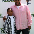 Stock Photo: Anthony Anderson and Son