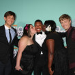Nick Cannon, Kyle Weiss, Emily-Anne Rigal, Shanoah Washington and James O'Dwyer — Stock Photo