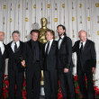 Sir Ben Kingsley, Robert DeNiro, Sean Penn, Michael Douglas, Adrien Brody, Sir Anthony Hopkins — Lizenzfreies Foto