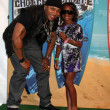 LL Cool J & Daughter — Stockfoto