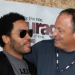 Lenny Kravitz &amp; Jeff Kravitz - Stock Photo