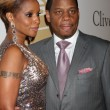 Mary J Blige and Husband Kendu Isaacs - Stock Photo