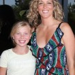 Laura Wright & Daughter - Stock Photo