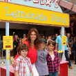 Nolan Gould & Cindy Crawford, Presley Gerber, Kaya Gerber — Stock Photo
