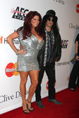 Slash, wife — Foto Stock