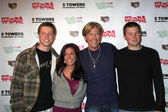 Son Harrison Wagner, Daughter Kelly, Jack Wagner, Son Peter Wagn — Stock Photo