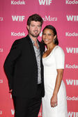 Robin Thicke & Paula Patton — Stock Photo