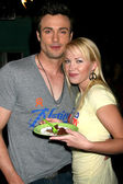 Daniel Goddard & Adrienne Frantz — Stock Photo