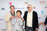 John Goodman, Ken Jeong, Chevy Chase — Stock Photo