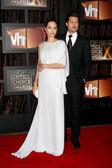 Angelina Jolie & Brad Pitt — Stock Photo
