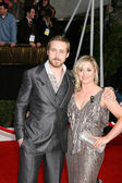 Ryan Gosling & sister — Stock Photo