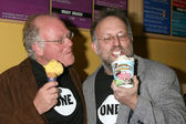 Ben Cohen & Jerry Greenfield — Stock Photo