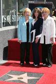 Lee Bell, Kate Linder, Jeanne Cooper — Stock Photo
