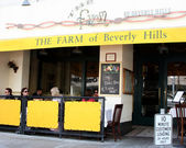 The Farm of Beverly Hills Resturant — Stock Photo