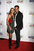 Cristian DeLaFuentes & wife — Stock Photo