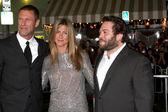 Aaron Eckhart, Jennifer Aniston, Dan Fogler — Stock Photo