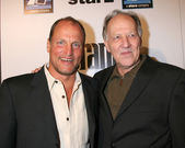 Woody Harrelson & Werner Herzog — Stock Photo