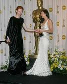Tilda Swinton & Marion Cotillard — Stock Photo