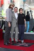 Ashton Kutcher, Jon Cryer, Angus T. Jones — Stock Photo