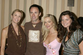 Katherine Kelly Lang, William deVry, Jennifer Gareis, and Heathe — Stock Photo