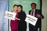 Erika Christensen, Ken Jeong, & Donald Glover — Stock Photo