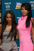 Lauren London and Cassie — Stock Photo