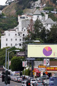 Chateau Marmont - Sunset Blvd — Stock Photo