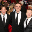 Slumdog Millionaire's Staff including Danny Boyle — Stock Photo