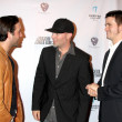 Chris Marquette, Fred Durst, and Jason Ritter — Stock Photo