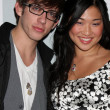 Kevin McHale, Jenna Ushkowitz - Stock Photo
