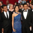 Slumdog Millionaire Cast — Stock Photo
