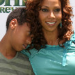 Постер, плакат: Holly Robinson Peete Son