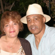Ken Norton, wife — Stock Photo