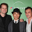 Jack Coleman, James Kyson Lee, Robert Knepper — Stock Photo #13024904