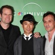 Jack Coleman, James Kyson Lee, Robert Knepper — Stock Photo
