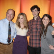 Larry Miller, Meaghan Martin, Ethan Peck, and Lindsey Shaw — Stock Photo