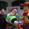Bob Iger, Buzz Lightyear, Woody — Stock Photo