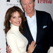 Susan Lucci & husband Helmut Huber - Stock Photo